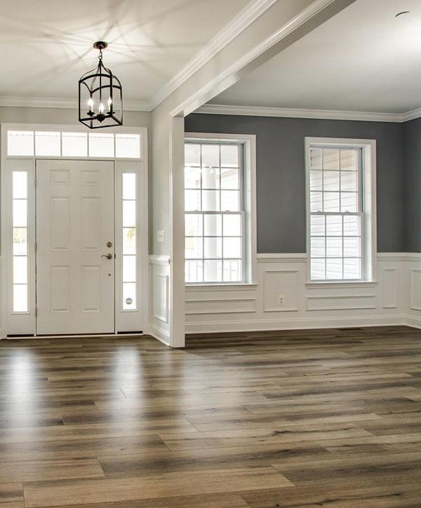 Custom built foyer